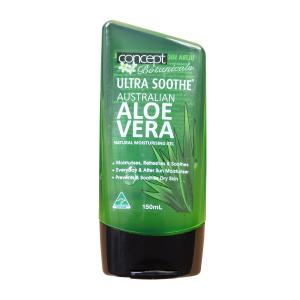 Ultra Soothe Aloe Vera Gel Relieves And Heals 150g Tube