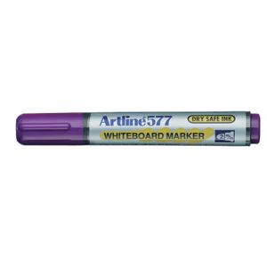 Artline 577 Whiteboard Marker Bullet Tip 2.0mm Purple
