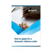 How To Apply For A Domestic Violence Order Guide