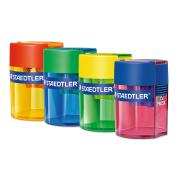 Staedtler Single Plastic Sharpener Assorted Colours