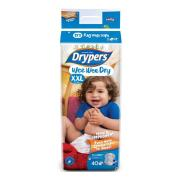 Drypers Nappies Junior 2XL Pack of 40 Carton of 3
