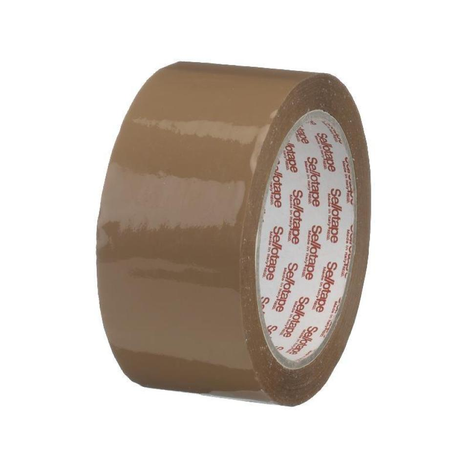 Sellotape 767 Packaging Tape Brown 38mmx75m