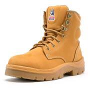 Steel Blue 542702 Ladies Argyle Boot Bumpcap Wheat-8.5