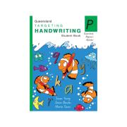 Pascal Press Targeting Handwriting QLD Student Book Prep Jane & Young Pinsker