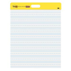 Post-It Super Sticky Wall Hanging Pad White Lined 508 x 584mm Pack 2
