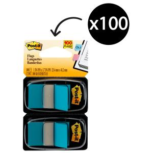 Post-It Flags 25.4 x 43.2mm Blue Pack 2