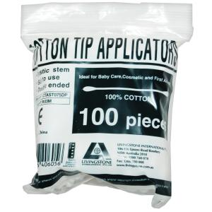 Livingstone Cotton Tips Pack 100