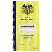 Spirax No.553 Cash Receipt Book 4-To-View 160 Duplicates