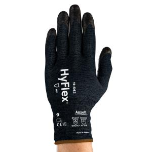 Ansell Hyflex 11-542 Nitrile Coated Level F Cut Protection Glove Pair