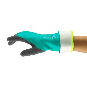 Ansell AlphaTec 58-735 Chemical and Cut Protection Gauntlet