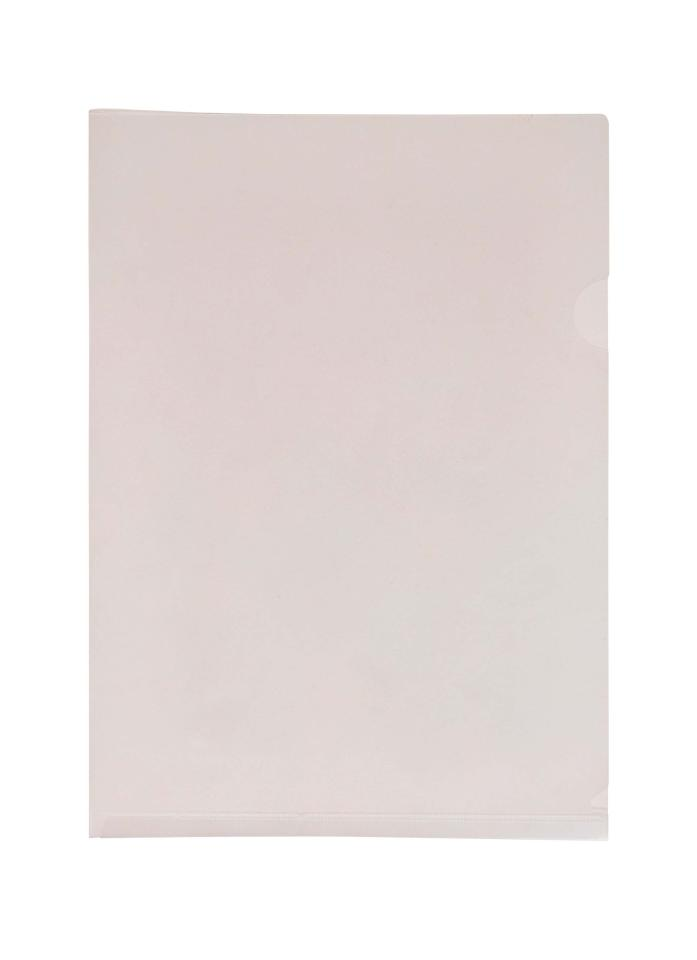 Winc Letter File A4 Open 2 Sides Clear Pack 25 Winc