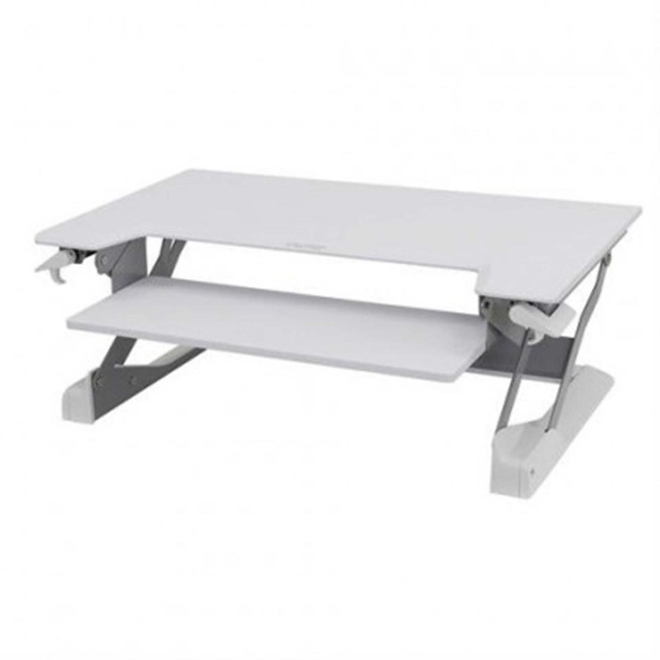 Workfit Tl Bright White Sit Stand Desktop