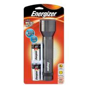 Energizer Led Metal Torch Includes 2 X D Batteries