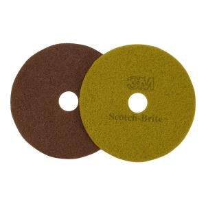 3M Diamond Floor Pads Sienna 43cm Each