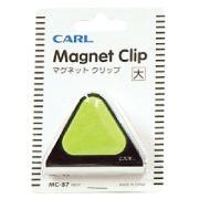 Carl Mc57 Magnetic Clip 60mm Green