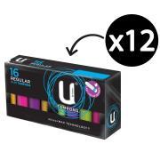 U By Kotex 0341 Ukotex Tampons Regular 16Pkx12 Carton