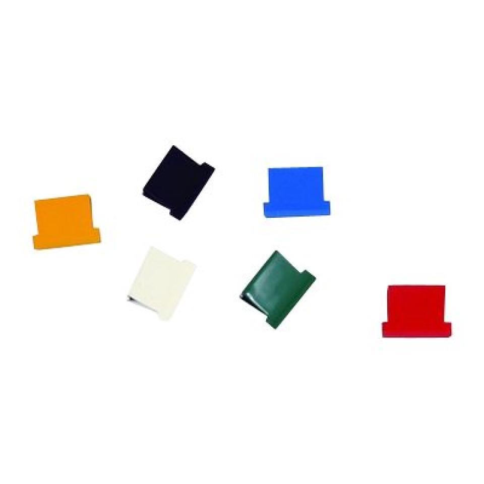 Esselte 45203 Nalclip Refills Medium Assorted Colours Pack 50