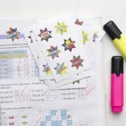 Avery Merit and Reward Stickers Dazzling Stars 30 mm Diameter Pack 102
