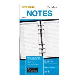 Debden 2020 Personal Dayplanner Organiser Notes Refill 96 x 172mm