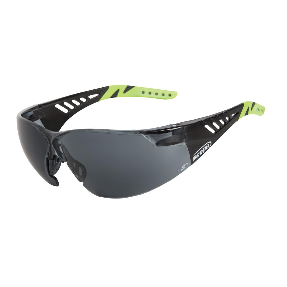 Scope Biosphere 500Bs Black And Lime Frame Smoke Lens