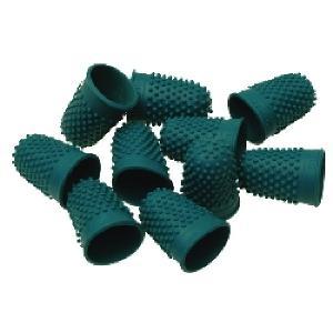 Esselte Superior Thimblettes Size 0 Dark Green Each