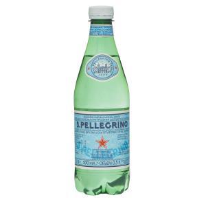 S.Pellegrino Sparkling Mineral Water 500ml PET Bottle Carton 24