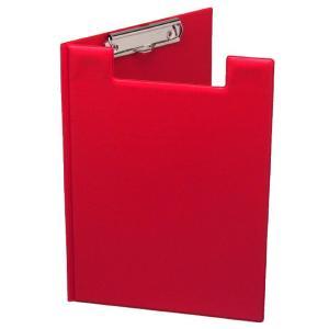 Marbig Clipfolder A4 PVC Cover Red