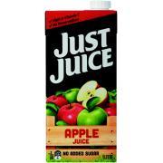 Just Juice Apple Juice 1 Litre Carton 12
