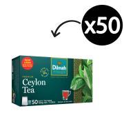 Dilmah Premium Tagged Tea Bags Pack 50
