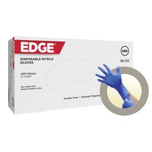 Ansell Edge 82-133 Cobalt Blue Nitrile Disposable Glove