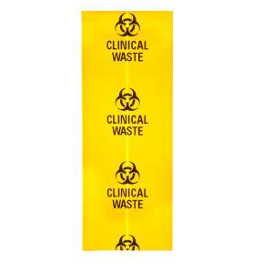 Austar Biohazard Clinical Waste Bag 600x900 Packet 25