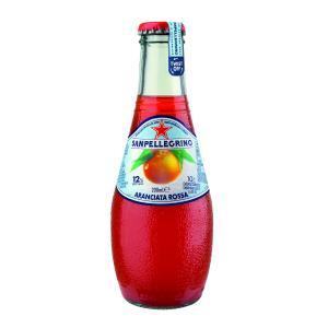 Sanpellegrino Aranciata Rossa 200ml Bottle Carton 24