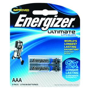 energizer ultimate lithium aaa batteries 2 pack staples now winc. Black Bedroom Furniture Sets. Home Design Ideas