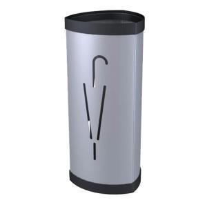 Alba Steel Umbrella Stand - Silver