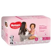 Huggies Junior Nappy Girl 16kg & Over Pack 30/Carton 3
