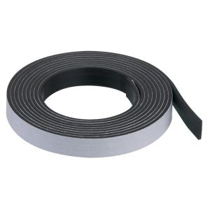Quartet Magnetic Self Adhesive Tape 12mm x 2.1m Black