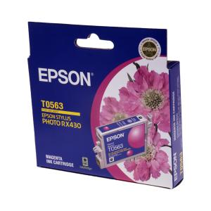 Epson T0563 Magenta Ink Cartridge - C13T056390