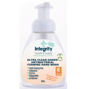 Integrity Health & Safety Indigenous Antibacterial Foam Hand Wash 300ml Pump