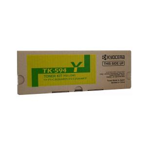 Kyocera TK-594Y Yellow Toner Kit