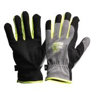 Pro-fit Riggamate Silver Synthetic Leather Gloves 2xl Pair
