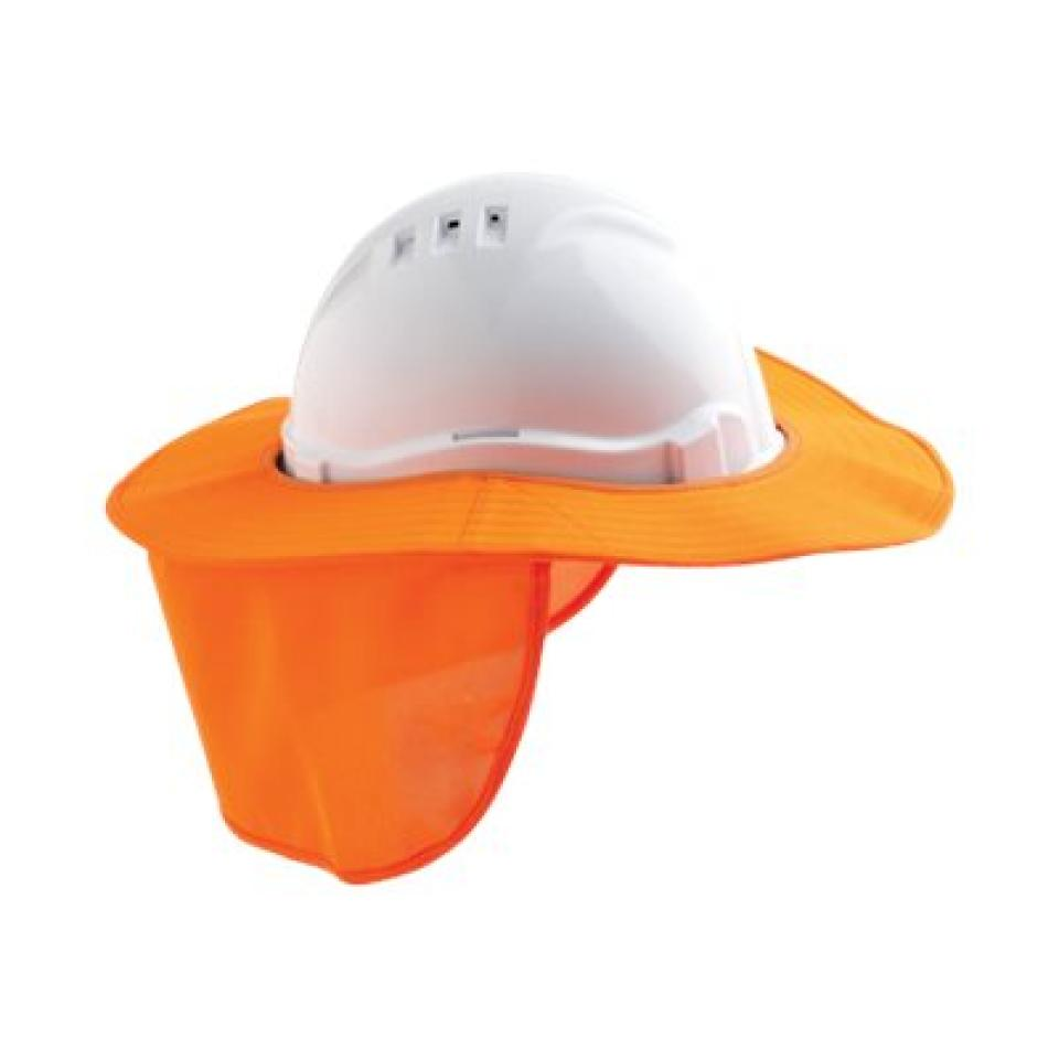 Paramount Safety Hhb-White Hard Hat Brim Polyester White Each
