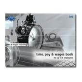 Zions Wage Book No 500 1-6 Staff Soft Cover