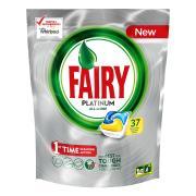 Fairy Autodish Tab Platinum Lemon Pack 37