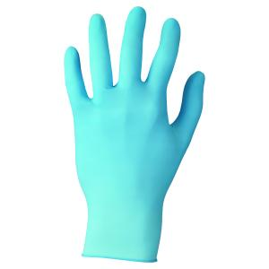 Ansell 92-670 Touch N Tough Gloves Disposable Premium Nitrile Powder Free Blue Box 100 Medium Box