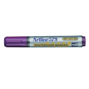 Artline 579 Whiteboard Marker Chisel Tip 2.0-5.0mm Purple