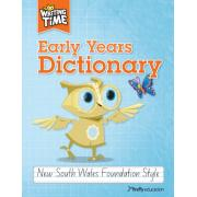 Writing Time Early Years Dictionary (NSW Foundation Style)
