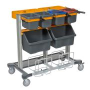 Jonmaster 7517355 Midi Open Large Trolley