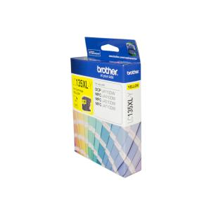 Brother LC135XL-Y Yellow Ink Cartridge