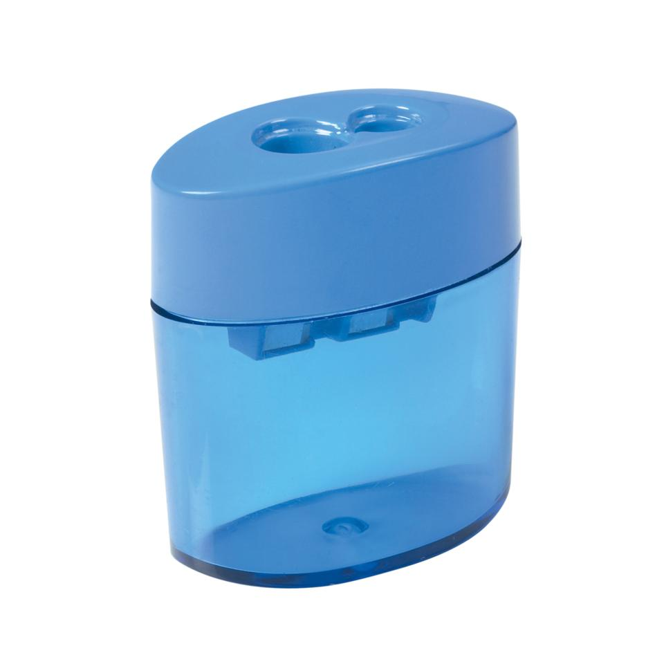Winc Pencil Sharpener Plastic Barrel Canister Double Hole