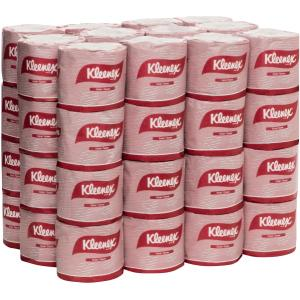 Kleenex 4735 Toilet Tissue Roll 2 Ply 400 Sheets White Pack 48